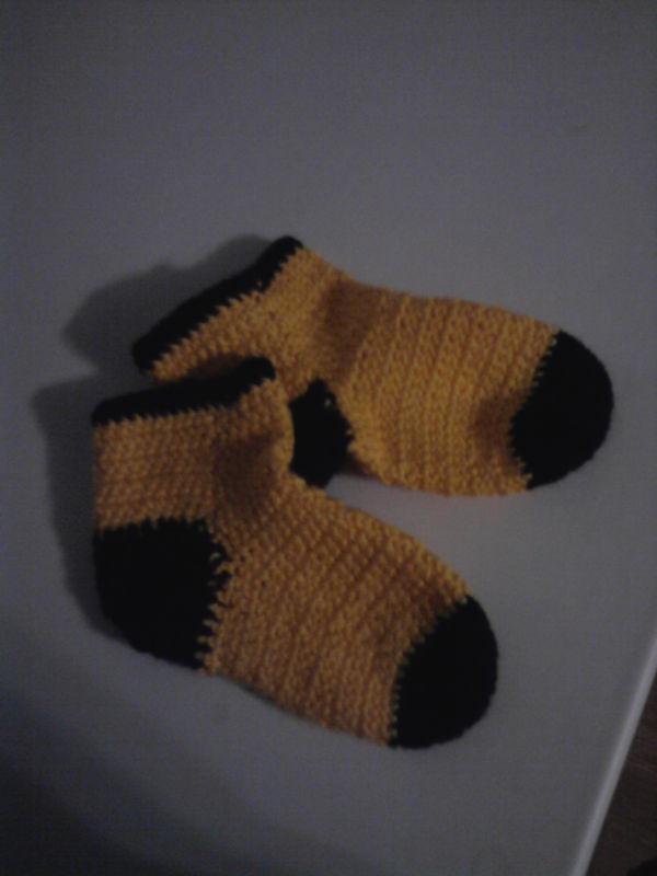 Носочки для дочки!!!))