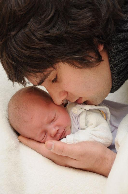 Любимый муж и доченька