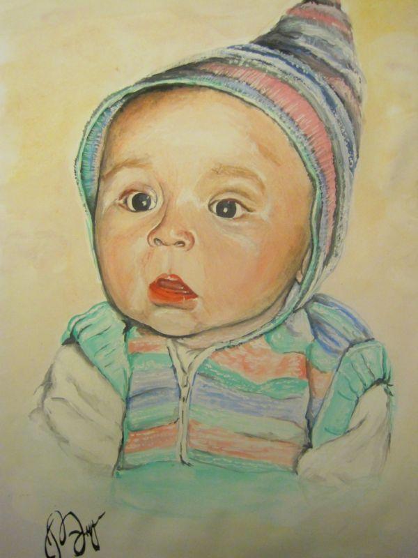 может кто хочет портрет себя или своего малыша?)))
