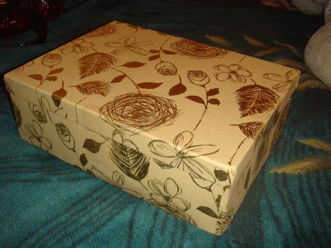 Я получила подарок из Ростова-на-Дону! Спасибо!!!