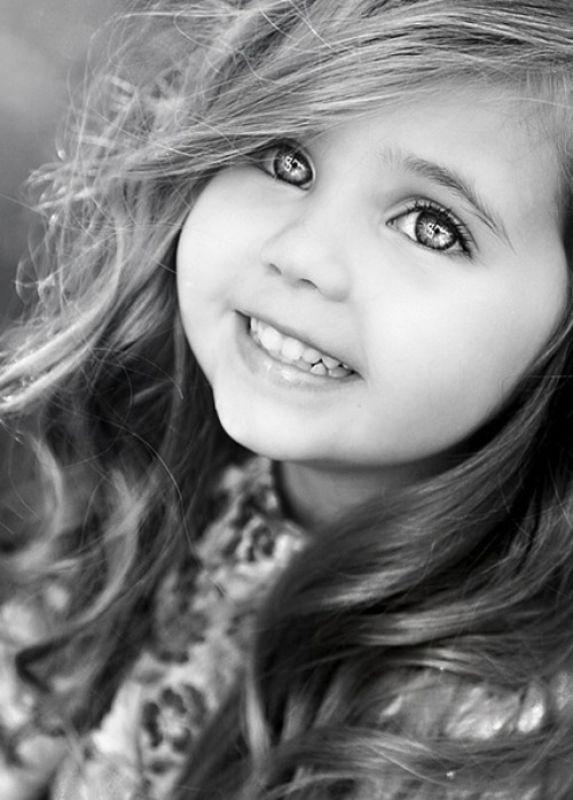 Днем, картинка с надписью красивая девочка