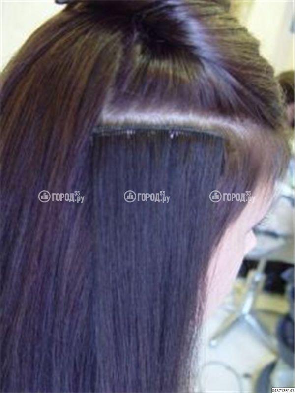 Волосы на заколках москва
