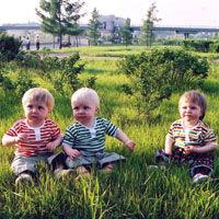 Моим тройняшкам 2 года! Дожили… Дожили! – Дневник Дарьи Мосуновой – мамы тройняшек