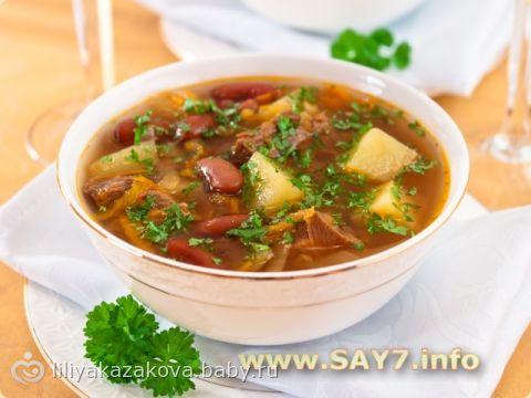 Вкусный суп солянка рецепт с фото пошагово