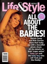 Беременная Марайя Кэри снялась голой для фотосессии!