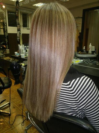 Тонирование волос недорого