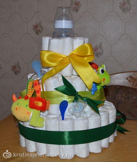 Торт из памперсов (фото)