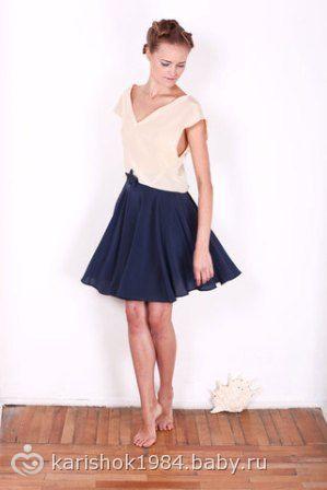 Фото юбки клешеные
