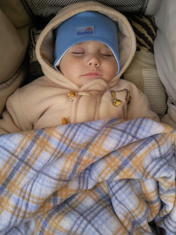 Мой сынулик спящий) (ФОТО)