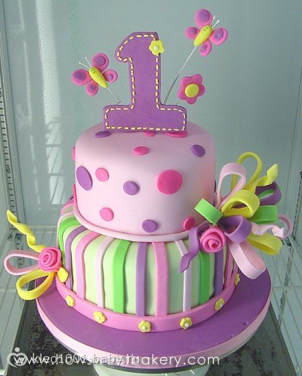 Фото детских тортов для 1 года