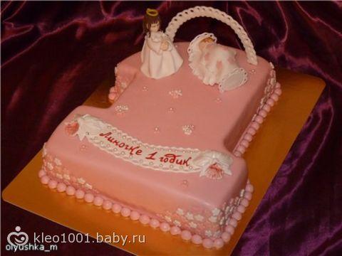 фото тортов на 1 годик девочки уфа