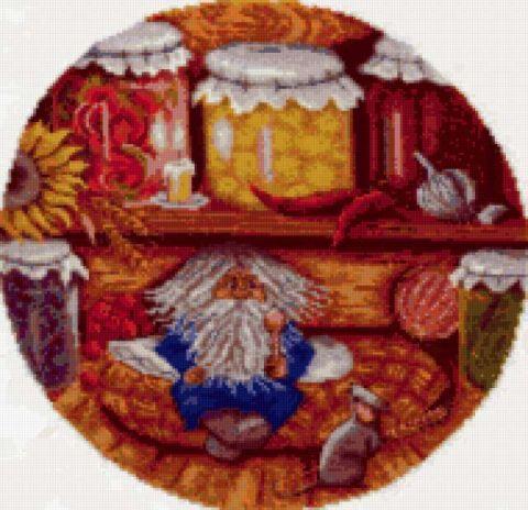 Panna СО-938 «Домовой - хранитель очага - Вышивалка