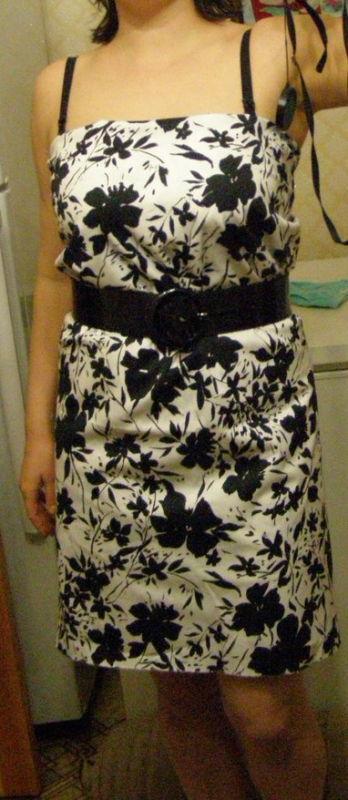 Решила сшить платье. Часть 2.