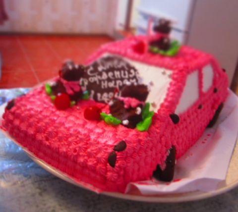 наш тортик на годовасие))