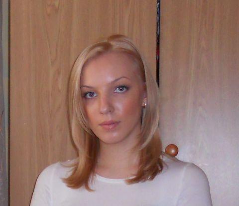 Теперь я блондинка)
