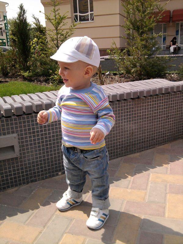 Моему сыночку любимому сегодня годик))))) Ураааа