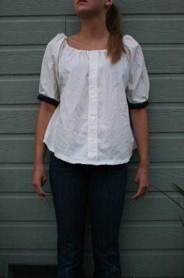 Переделка блузки в москве