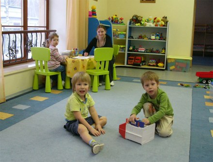 Детский сад. Как у вас?