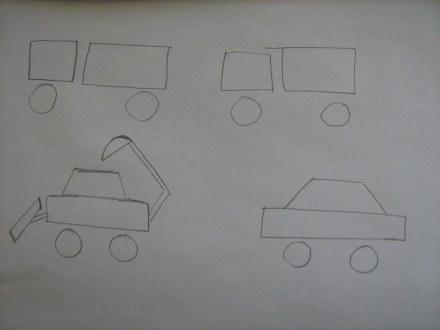 Как нарисовать машину?