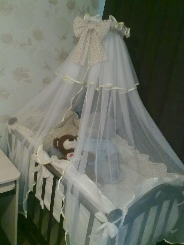 Кроватка для нашей принцессы!!!