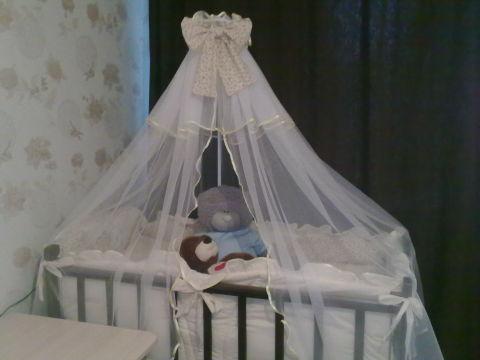 Кроватка для нашей принцессы!!! С ФОТО!)