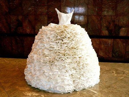 Ужас свадебное платье