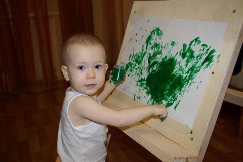 Наш первый рисунок