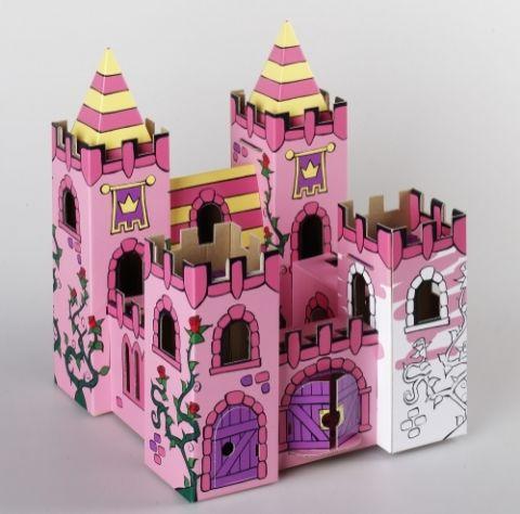 Замок для девочек своими руками