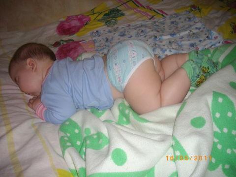 спящие попой к верху вызывающие пульсации