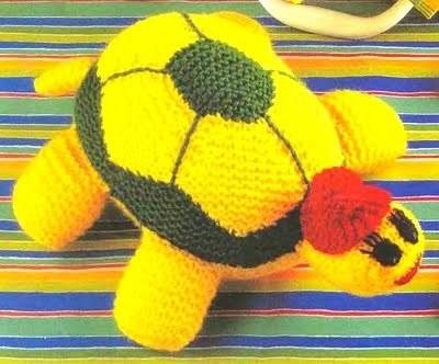 Вязание крючком черепаха со схемой 150