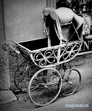 Ретро-коляски. ФОТО.