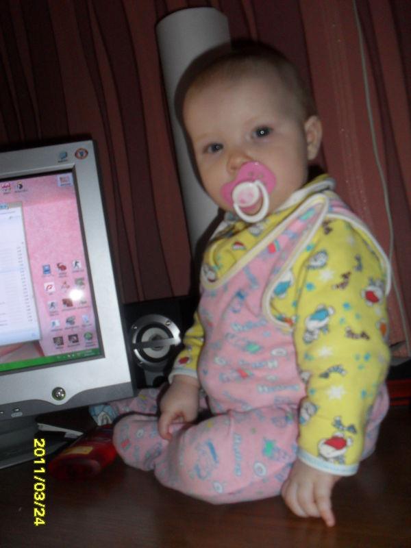 Блоги читаем вместе с дочей! (фото)