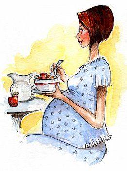 Диета, меню для беременных