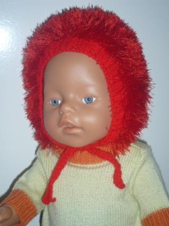 Продам вязанную одежду для куклы беби бон