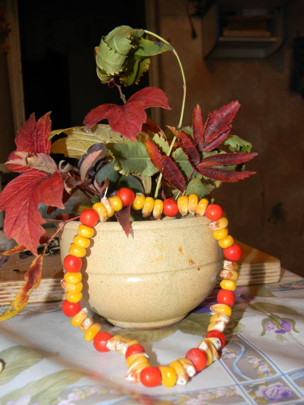Осенние поделки в садик)