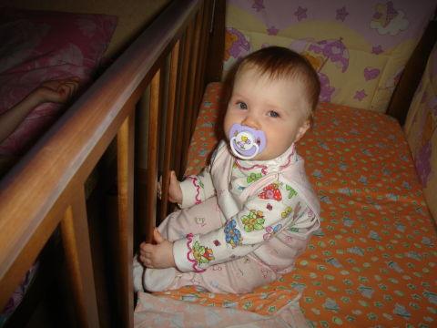 Дочке сегодня 8 месяцев!!!