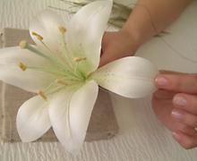 Как сделать лилии своими руками фото