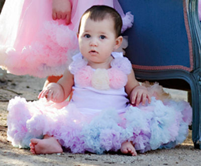 Пышные юбки на девочку 1 год