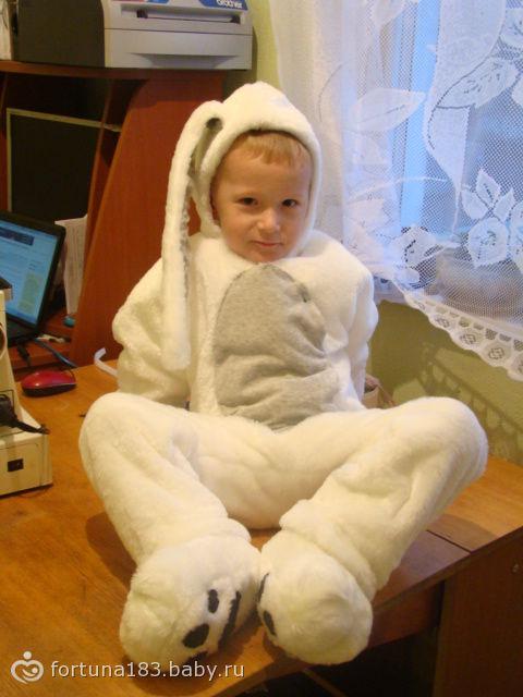 Костюм Зайца-сшила для своегот малыша…