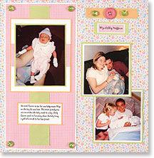 Оформления детского фотоальбома