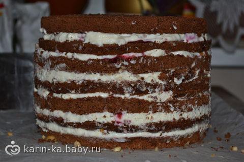 рецепт бисквитного торта с йогуртовым кремом под мастику