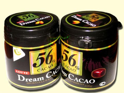 LOTTE Шоколад в кубиках «Dream Cacao»