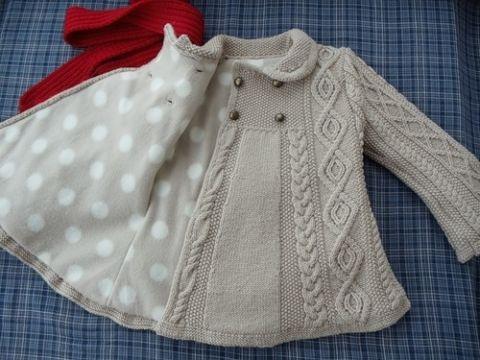 Пальто для девочки 3 лет своими руками