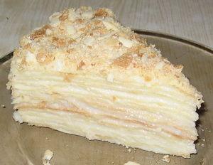 торт наполеон с заварным кремом рецепт с фото