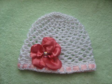 Летняя шапочка от 0-3 месяцев.