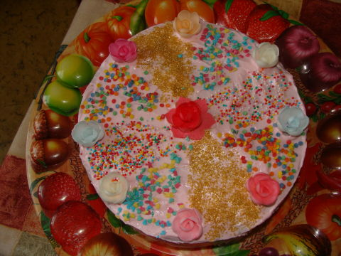 Тортик для любимого мужа)))
