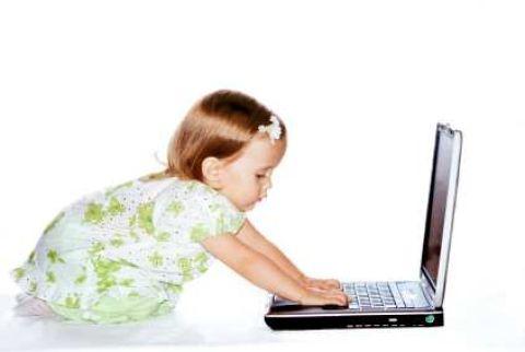 Наши дети за компьютером?