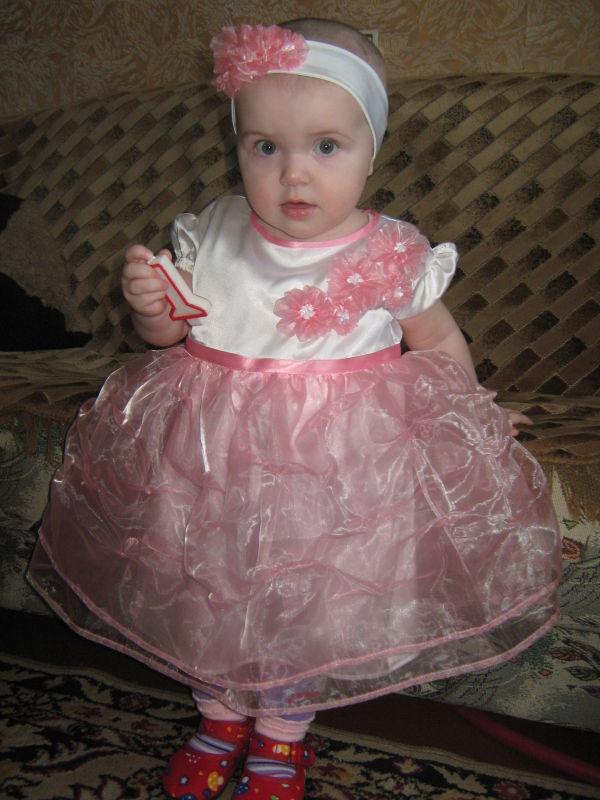 Платье на годик своими руками с фото