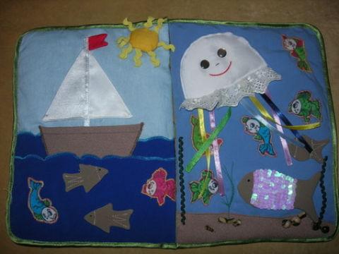Как сделать книгу из ткани своими руками