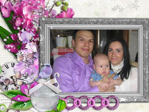 А нам сегодня полгодика)))))))))
